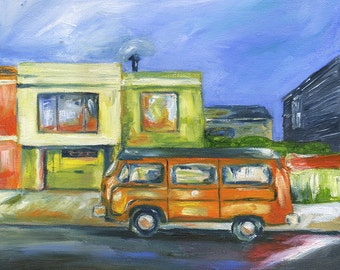 San Francisco Hippie Bus