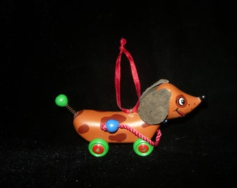 Adorable Dachshund Ornament