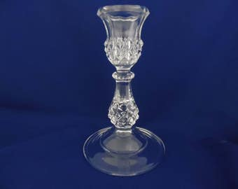 Crystal Candlestick for Pillar Candles