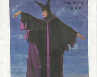 CUT Simplicity 8329 Disney Maleficent Costume Pattern Misses' Size Medium 14 - 16