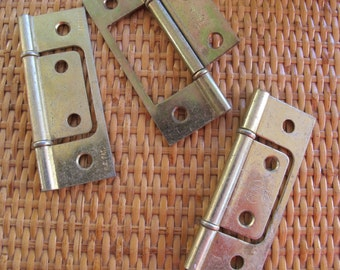 ACME 3 inch Bifold closet door hinges (5 pairs available) / brass plated hinges