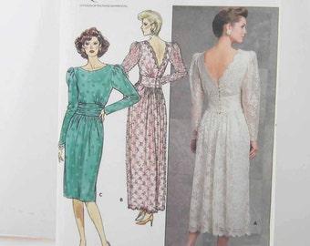 Vintage Pattern Butterick 4902 Uncut Size 8-10-12