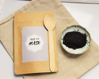 Man Up All natural Activated Charcoal Mask for Men