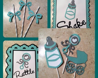Shake, Rattle and Roll Theme Baby Shower