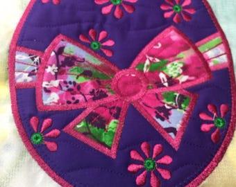 NEW Embroidered Mug RUg mouse pad EASTER Egg