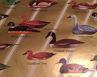 Duck  craft paper wrapping paper