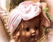 Baby knit knot headwear, baby headwrap, stretch knit headbands