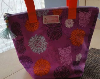 Lunch Bag / Insulated Owl Lunch Bag