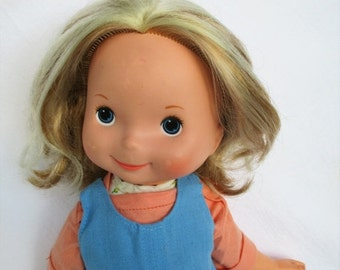 """New Years SALE 30% OFF Vintage 1977 My Friend Mandy Doll with Blonde Hair by Fisher Price 16"""" doll 211"""