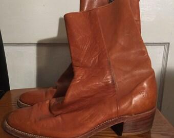 Vintage Frye Boots Mens 8 1/2 Beatle Boots