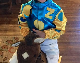 Special Order Only..XS sizes 1,2,3 American Pharoah outfit