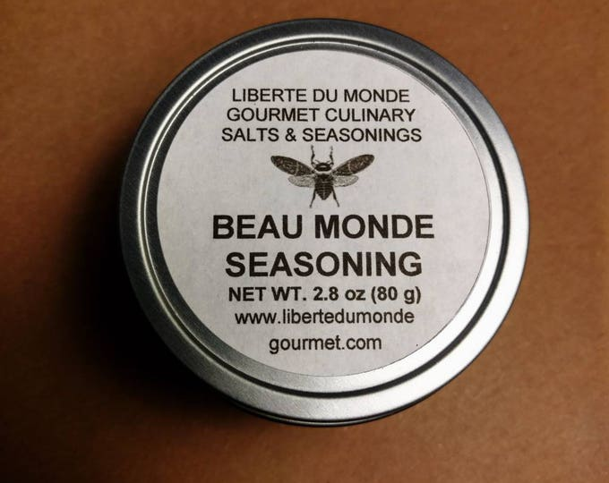 Beau Monde Seasoning in 4 oz Tin