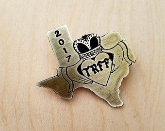 TRFF 2017 Texas Brass Pin
