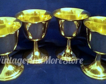 Lord Saybrook International Sterling Silver 4pc Sherbert Cups/Oyster Cocktail P120