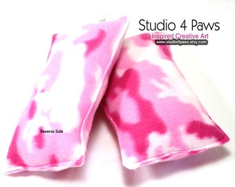 Guinea Pig Luxury Large Pillows - (Pink Camo)