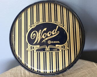Wood Candy Tin Chicago 1lb