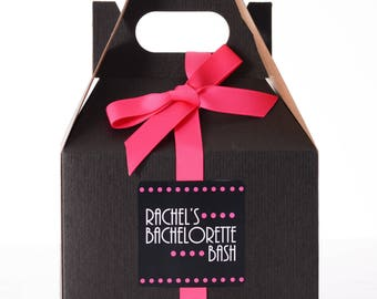 10 Bachelorette Survival Kit Box - Bachelorette Party Box - Bachelorette Party Favor Boxes