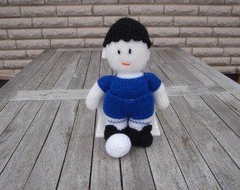 Doll football player