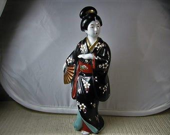1920's Geisha girl Bijan beauty statue