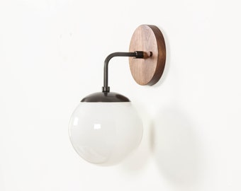 Wall Sconce, Mid Century Modern Lighting, UL Listed- Carolina Sconce
