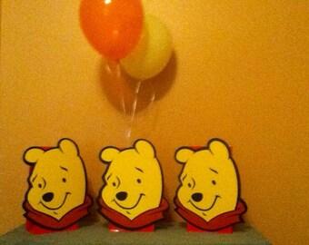 Cute Pooh Party Balloon Centerpiece
