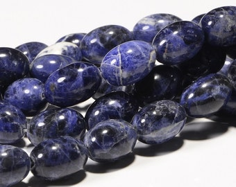 Sodalite 19x13mm  Natural Sodalite Gemstones Jewelry Making Supplies