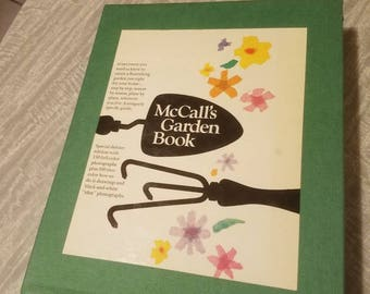 McCalls Garden Book. 500 pages. Color pictures and illustrations.