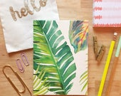 Made to Order - Palm Leaf Notebook
