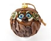 Han - Holiday Owl Ornament