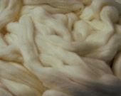 White Acala Cotton Sliver - 4 Ounces