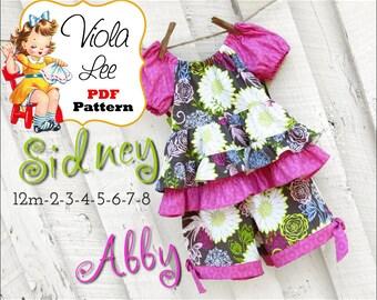 Girls Peasant Top Patterns. Toddler Peasant Top Patterns pdf. Girl's Top Pattern. Girl's Clothing Pattern. Toddler Sewing Pattern. Sidney