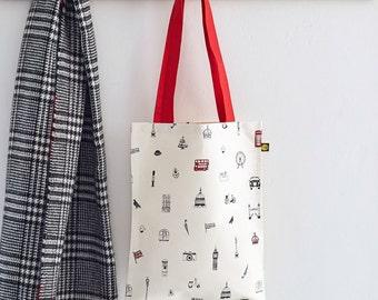 Simply London Canvas Bag