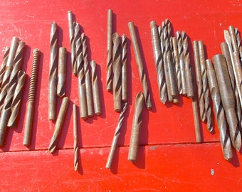 Set of 38 DRILL BITS  all types and sizes Tools Wood Working Home Improvement
