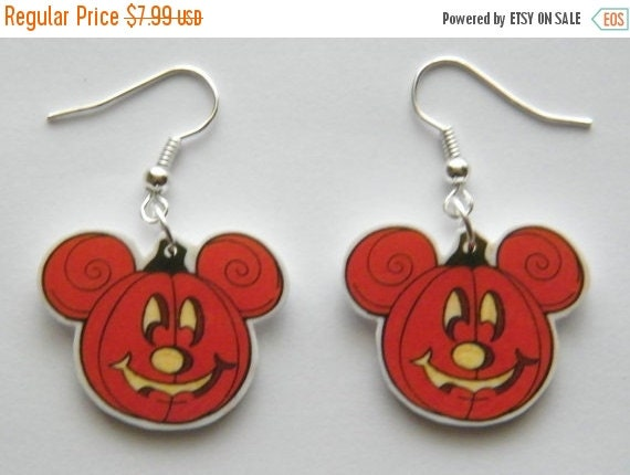 Disney Mickey Mouse Pumpkin Jack O Lantern Halloween By