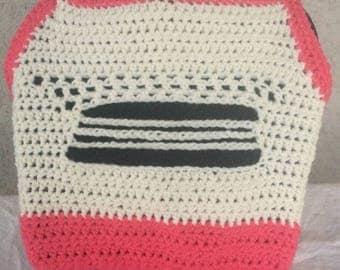 Juniors Size M/L Crochet Boho Style Halter Top