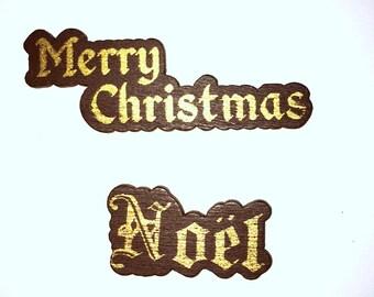 Christmas Needle Minder, Noel Needle Minder, Festive Needle Keep, Pin Holder, Fridge Magnet.  Stitch Minder, Needle Holder, Merry Christmas