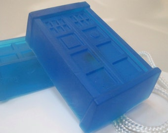 Soap 0n a Rope - LARGE Police Box