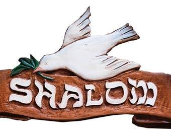 Shalom Peace Wall Plaque