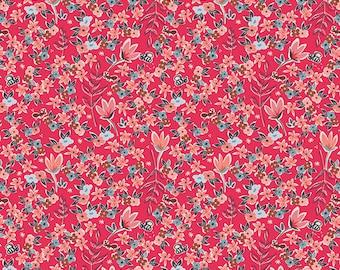 Amy Sinibaldi - Charleston - Garden Of Dreams Rouge - Art Gallery Fabrics (CHA-41705) - 1 Yard