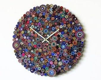 Unique Wall Clock, Eco Friendly Wall Art, Home Decor, Decor and Housewares