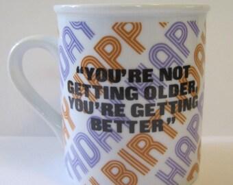 Vintage Birthday Mug - Enesco