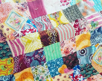 Boho Chic Quilt - Anna Maria Horner Quilt - Bed Quilt - Bohemian Style Comforter