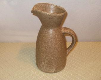 Vintage Gordon And Jane Martz Marshall Studios Art Pottery Warter Pitcher Eames MCM Mccobb
