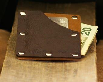 Mens Leather Wallet, Leather Wallet, Mens Thin Leather Wallet, Mens Boho Wallet, Boho Leather Wallet, Minimal Wallet, Slim Wallet