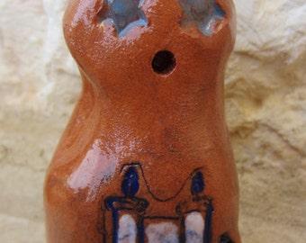 TORAH GOLEM - Golem One of a Kind Magical Mythical Protector Ceramic Figurine