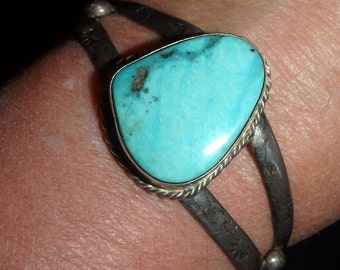 Old Turquoise Cuff Bracelet