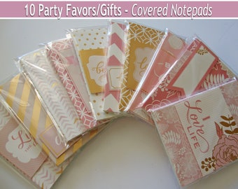 Notepad Party Favors,Adult Goody Bags,Birthday Bags,Wedding Favors,Bulk notepads,Bulk party favors,gift bags,memo pads,party favors,