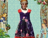 Playful Tunic dress Folk