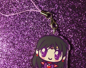 "Sailor Mars 1.5"" Charm or Keychain"