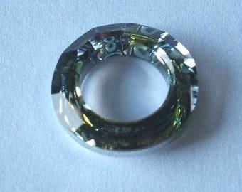 1 SWAROVSKI 4139 Cosmic Ring Crystal Bead 14mm SAHARA